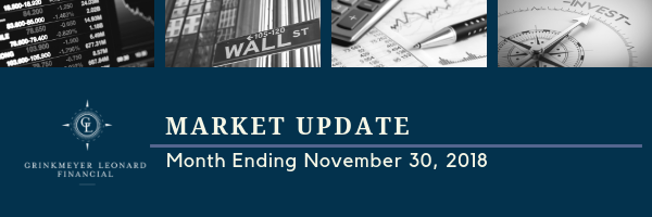 Market Update for Month Ending November 30 2018 email header
