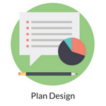 Plan Design Icon for Website Use 150x150