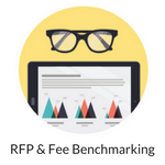 RFP & Fee Benchmarking Icon for Website
