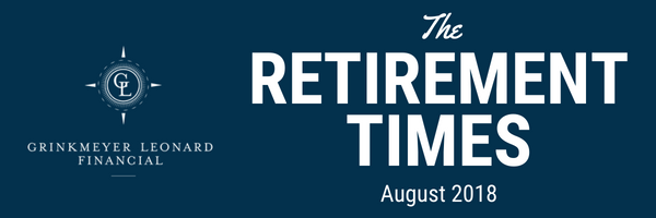 The Retirement Times Email header August 2018