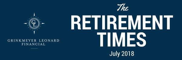 The Retirement Times Email header July 2018