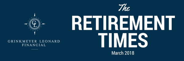 The Retirement Times Email header March 2018