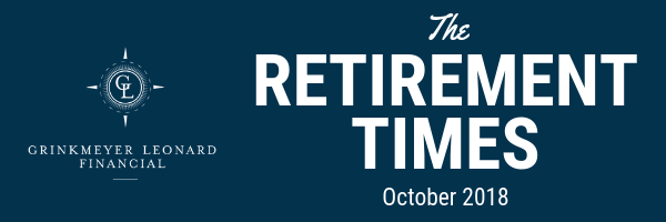 The Retirement Times Email header October 2018