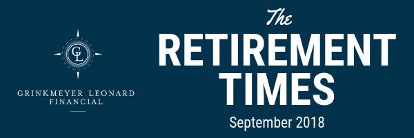 The Retirement Times Email header September 2018